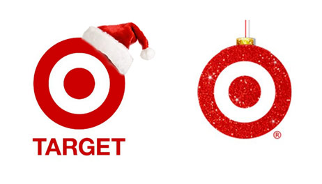 target christmas logos good and bad designs