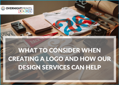 WHAT TO CONSIDER WHEN CREATING A LOGO AND HOW OUR DESIGN SERVICES CAN HELP - Overnight Prints