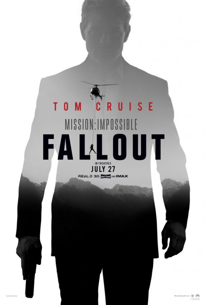 Mission: Impossible - Fallout - large movie poster - 1875x2777 - 4k 1080p - overnightprints