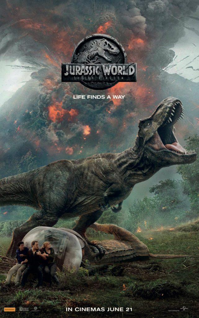 jurassic world: fallen kingdom - extra large poster hd 4k - 1532x2444 - overnightprints