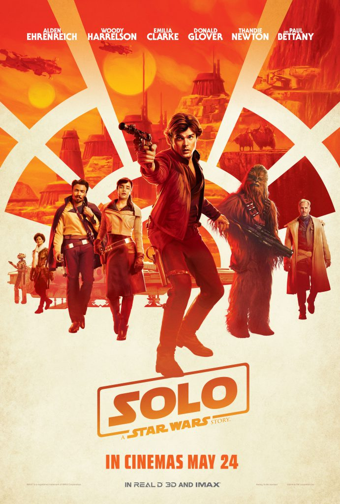 Solo - Star Wars - 4k HD - large format - 1080p - overnightprints
