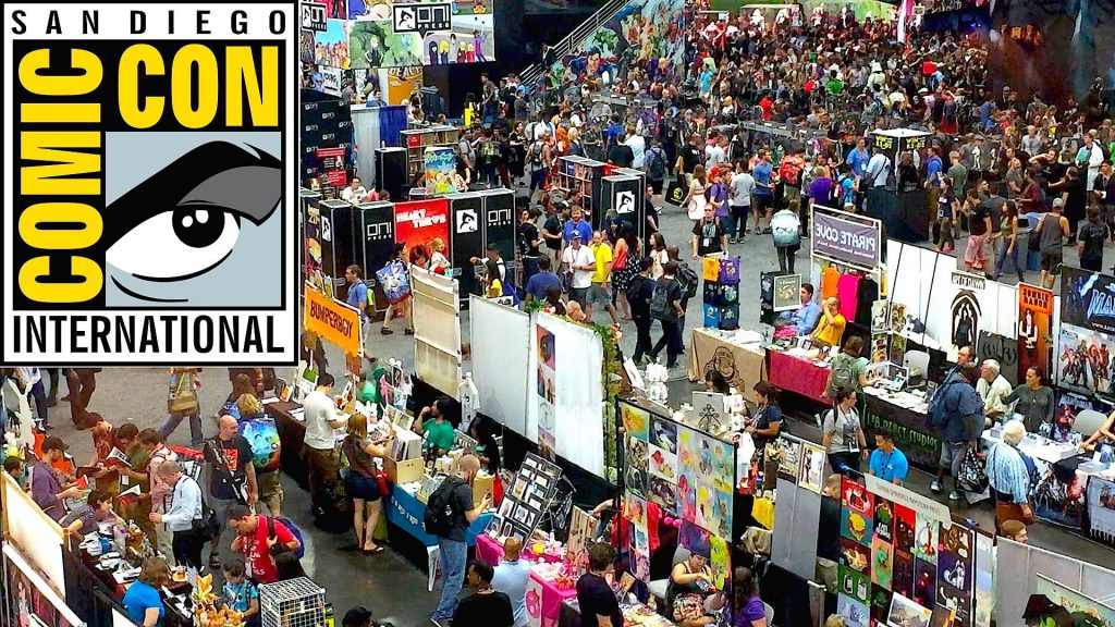 San Diego Comic Con - comic convention influence on social media, technology, fashion, culture and entertainment
