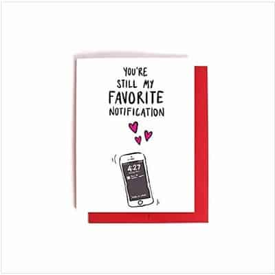 You are My Favourite Anticipation Greeting Card