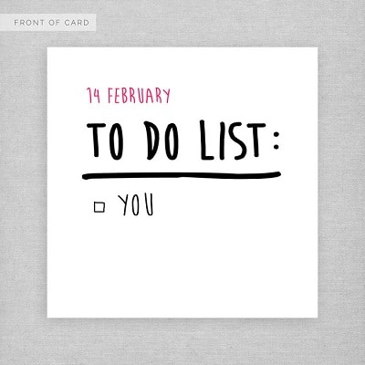 To-do List Greeting Card